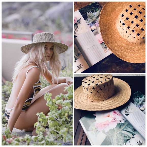 Accessories - Bohemian Gypsy Woven Spring Summer Hat 41755151e81b